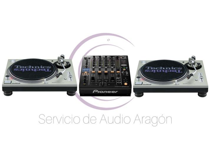 Pioneer DJM 900 Nexus + 2x Technics SL1200 mkII