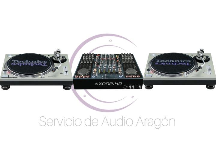 Allen&Heath Xone 4D + 2x Technics SL1200 mkII
