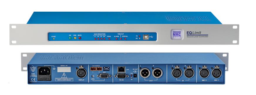 MRC Audio Limitador de sonido