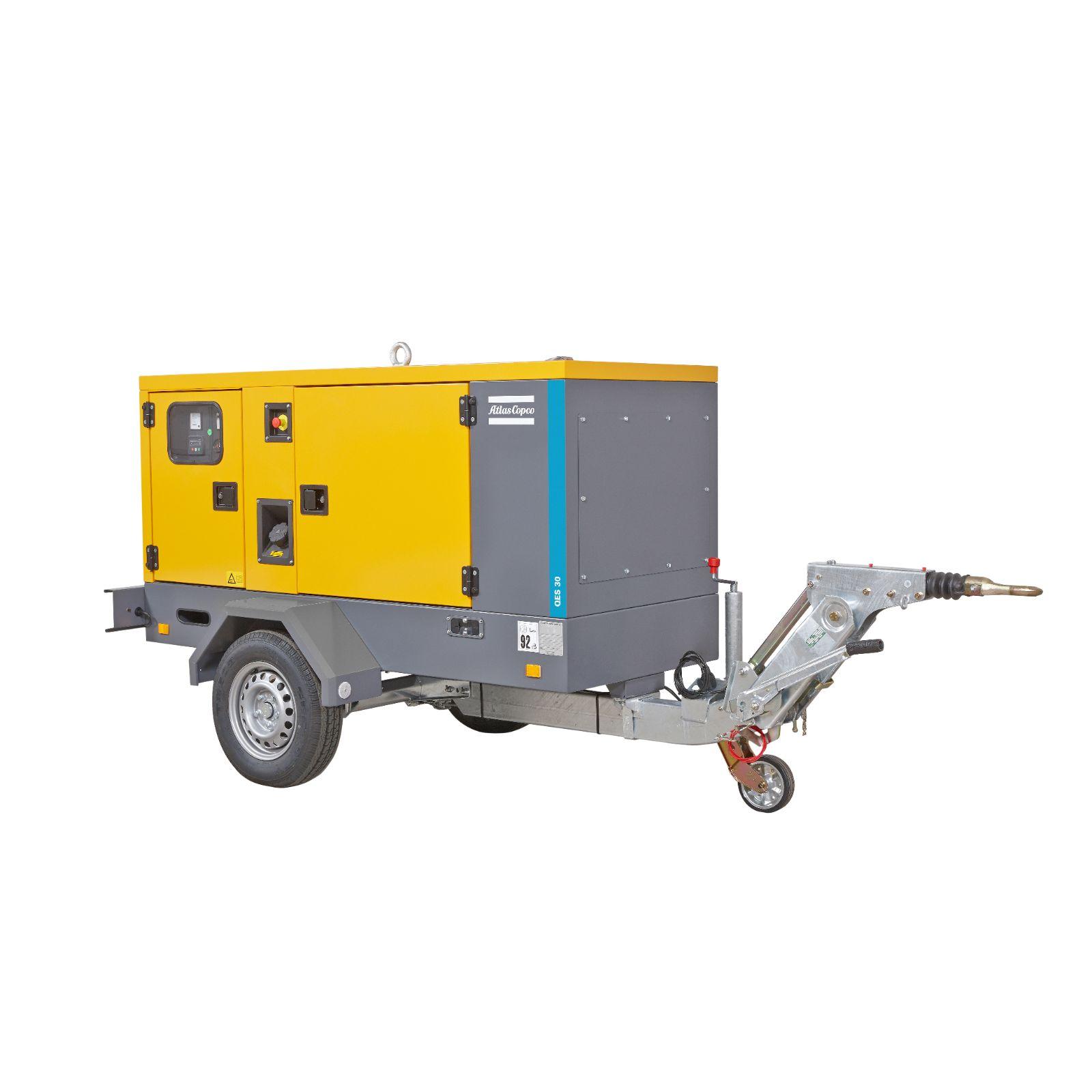 Generador 30kVA insonorizado